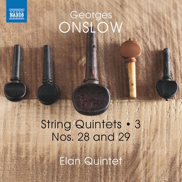 Elan Quintet - Onslow: String Quintets, Vol. 3 – Nos. 28 & 29