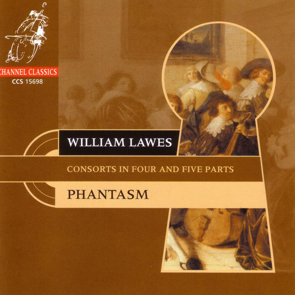 William Lawes - Lawes: Consorts in 4 and 5 Parts