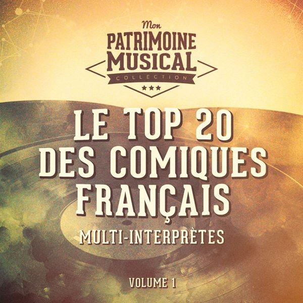 Multi-interprètes - Le top 20 des comiques français, vol. 1