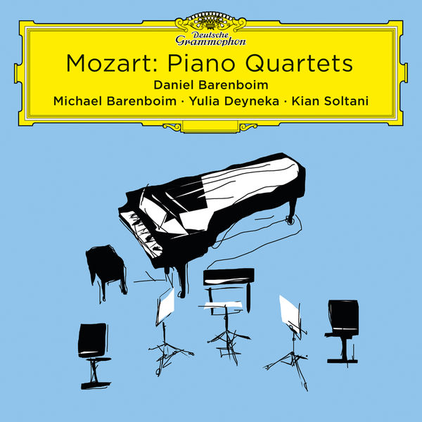 Michael Barenboim - Mozart: Piano Quartets