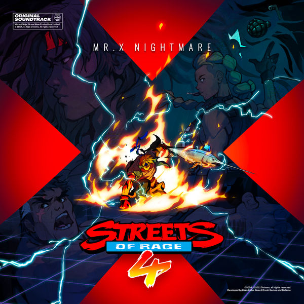 Tee Lopes - Streets of Rage 4: Mr. X Nightmare (Original Game Soundtrack)