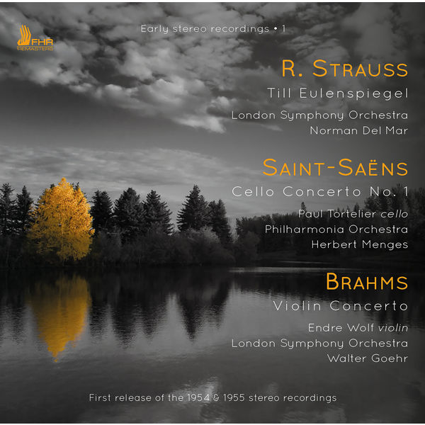 London Symphony Orchestra - Strauss, Saint-Saëns & Brahms: Orchestral Works