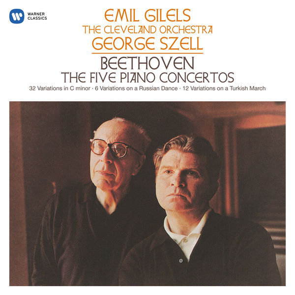 Emil Gilels - Beethoven: The Five Piano Concertos, Variations, Op. 76, WoO 71 & 80