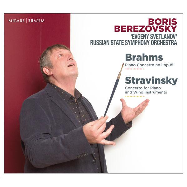 Boris Berezovsky - Brahms: Concerto No.1 - Stravinsky: Concerto for Piano & Wind Instruments