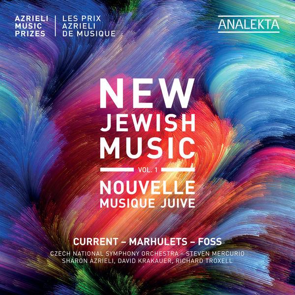 Czech National Symphony Orchestra - New Jewish Music, Vol. 1 - Azrieli Music Prizes