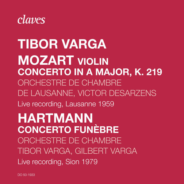 Tibor Varga - Tibor Varga, Rare Live Recordings