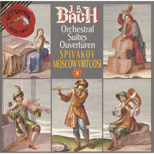 Vladimir Spivakov - Johann Sebastian Bach Orchestral Suites