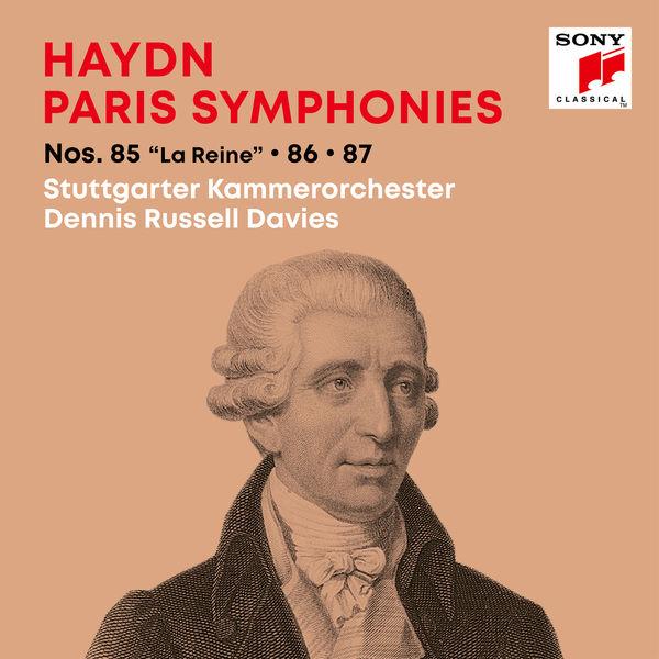 """Dennis Russell Davies - Haydn: Paris Symphonies / Pariser Sinfonien Nos. 85 """"La Reine"""", 86, 87"""