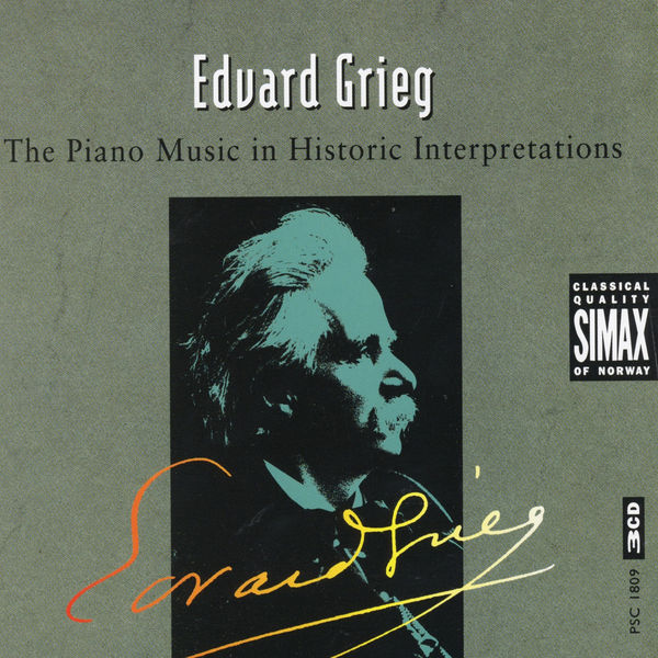 Diverse Artister - Edvard Grieg: The Piano Music in Historic Interpretations