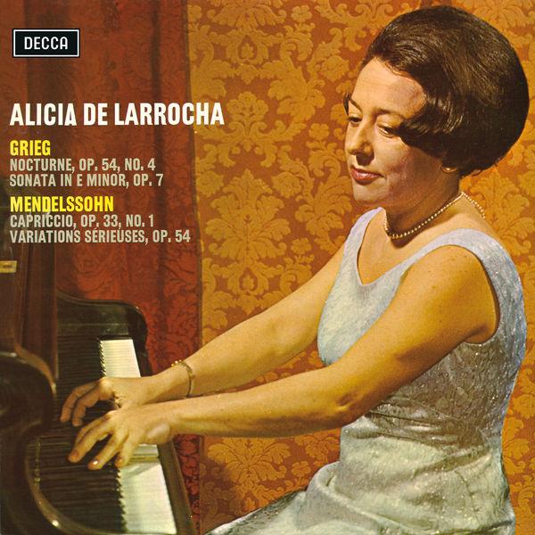 Alicia de Larrocha - Grieg & Mendelssohn Recital