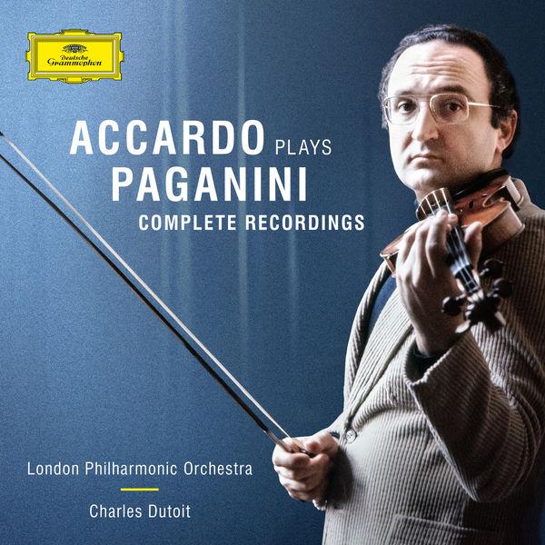 Salvatore Accardo - Accardo Plays Paganini - The Complete Recordings