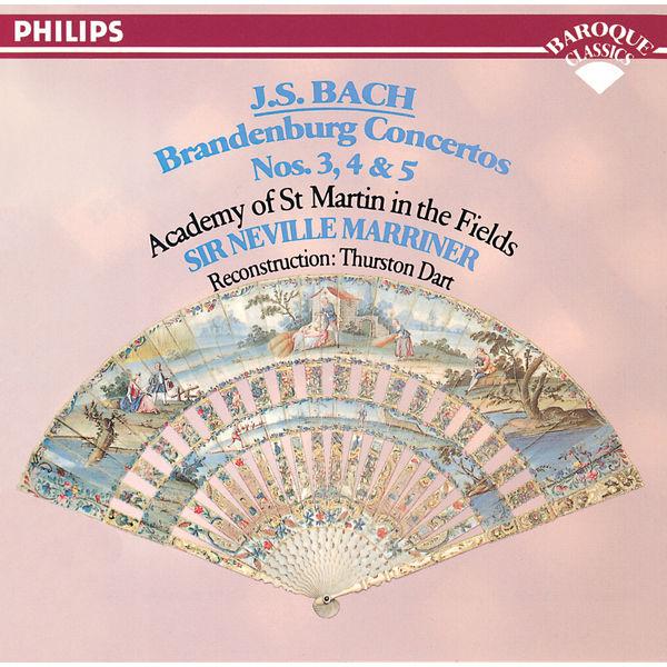Academy of St. Martin in the Fields - Bach, J.S.: Brandenburg Concertos Nos. 3, 4 & 5