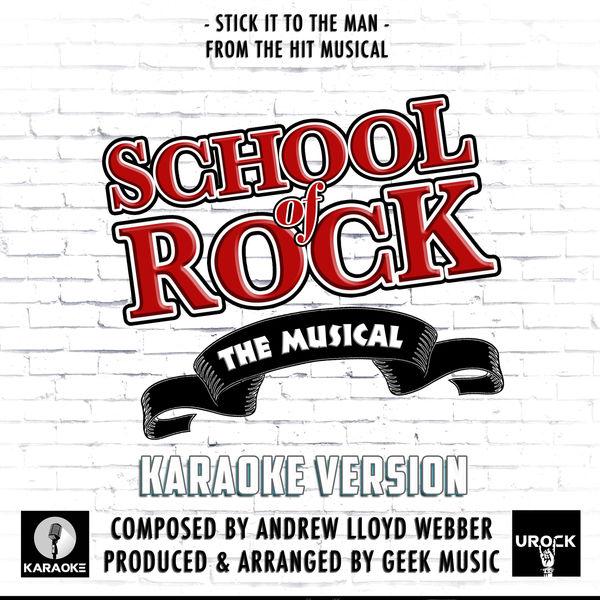 """Urock Karaoke - Stick It To The Man (From """"School Of Rock"""")"""
