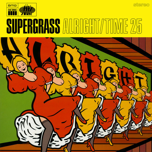 Supergrass Alright / Time 25