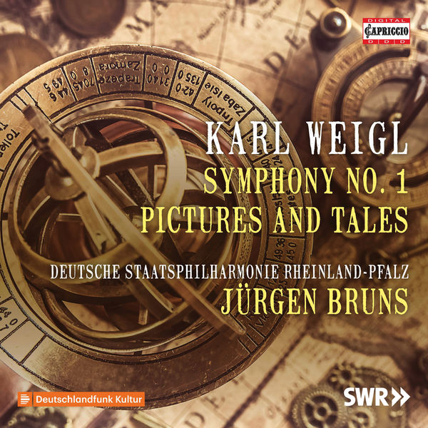 Staatsphilharmonie Rheinland-Pfalz - Weigl: Symphony No. 1 in E Major, Op. 5 & Pictures and Tales Suite