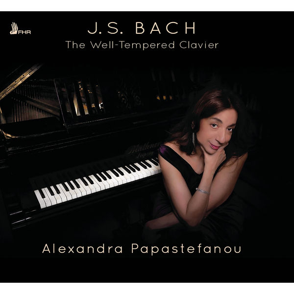 Alexandra Papastefanou - Bach: The Well-Tempered Clavier, Books 1 & 2