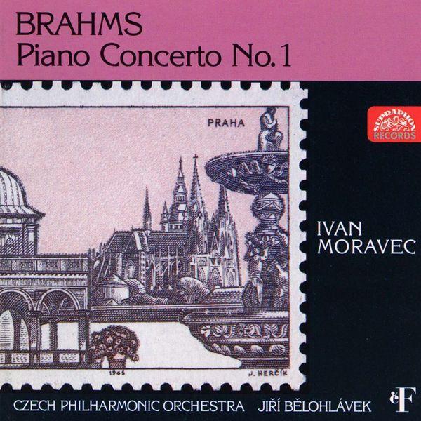 Ivan Moravec, Jiří Bělohlávek, Czech Philharmonic - Brahms: Piano Concerto No. 1