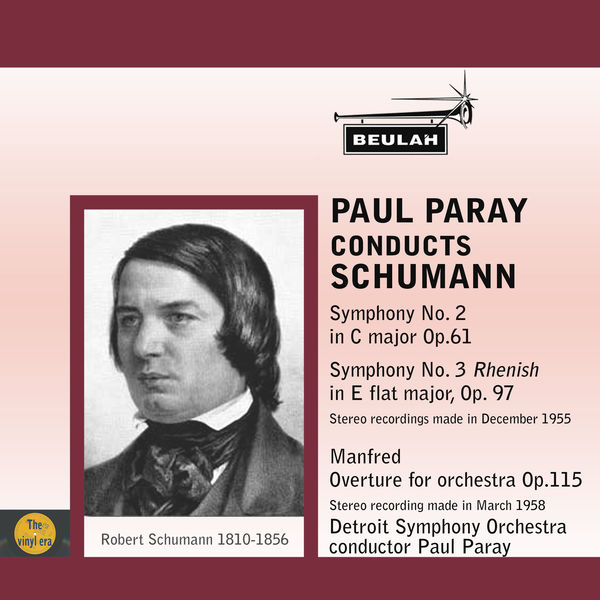 Paul Paray - Paul Paray Conducts Schumann