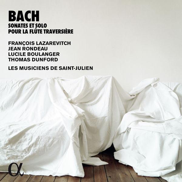 François Lazarevitch - Bach: Sonates & solo pour la flûte traversière (Alpha Collection)