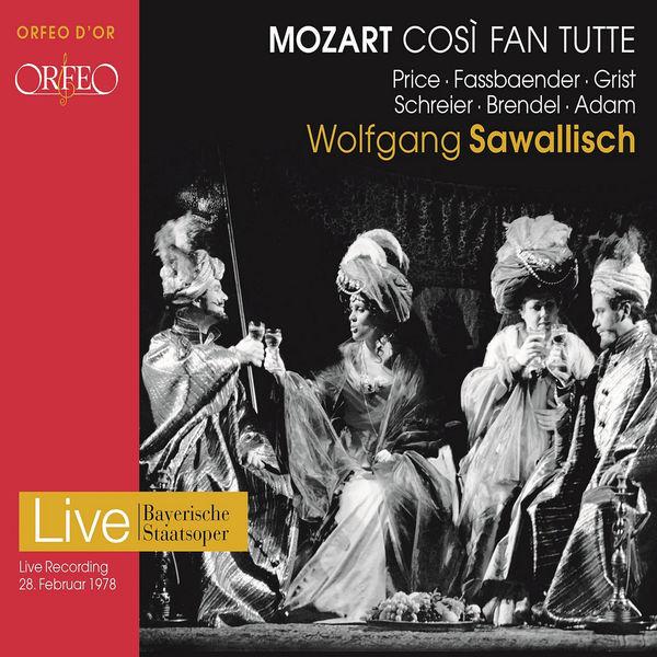 Wolfgang Sawallisch - Mozart : Così fan tutte, K. 588 (Live)