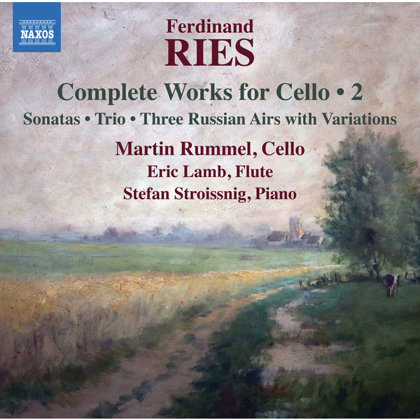 Martin Rummel - Ries: Complete Works for Cello, Vol. 2