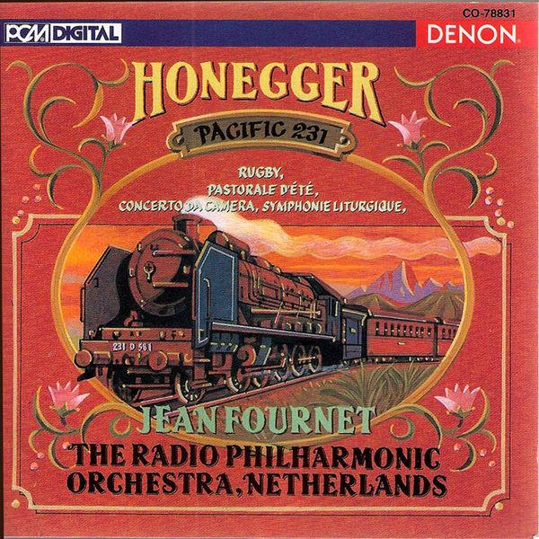 Jean Fournet - Honegger: Pacific 231