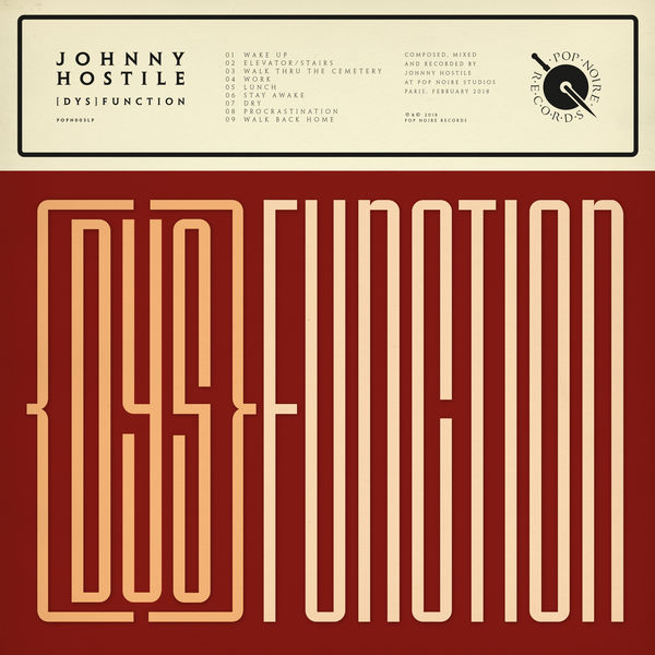 Johnny Hostile - (dys)function