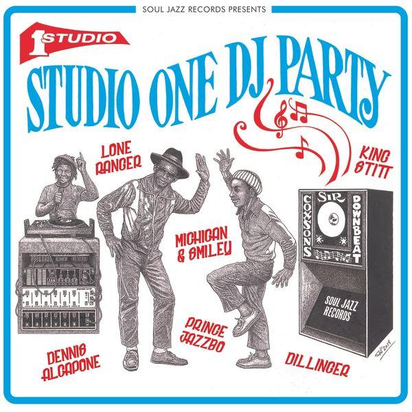Various Artists - Soul Jazz Records presents Studio One DJ Party