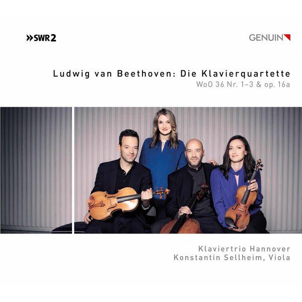 Klaviertrio Hannover - Beethoven: Piano Quartets