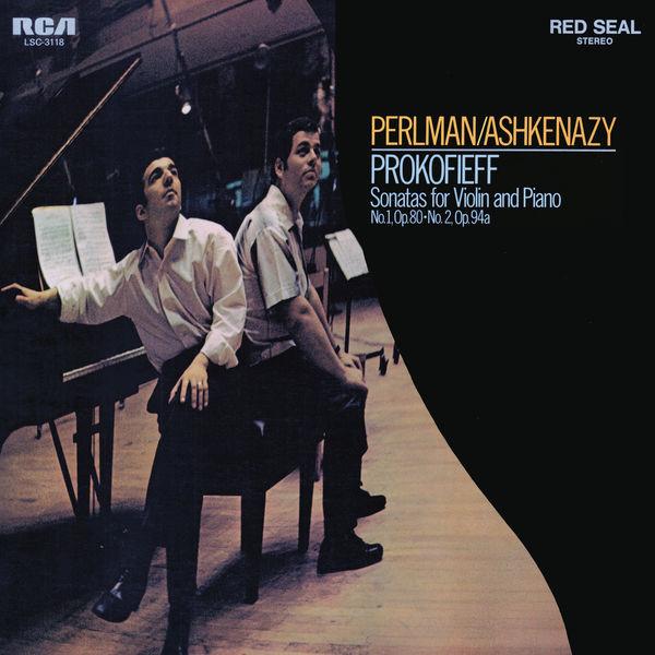 Itzhak Perlman - Prokofiev: Violin Sonata No. 1 in F Minor, Op. 80 & Violin Sonata in D Major No. 2, Op. 94bis