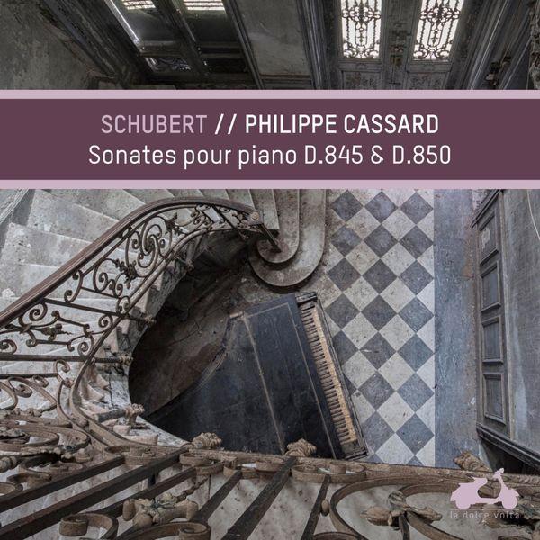 Philippe Cassard - Schubert : Piano Sonatas, D.845 & D.850