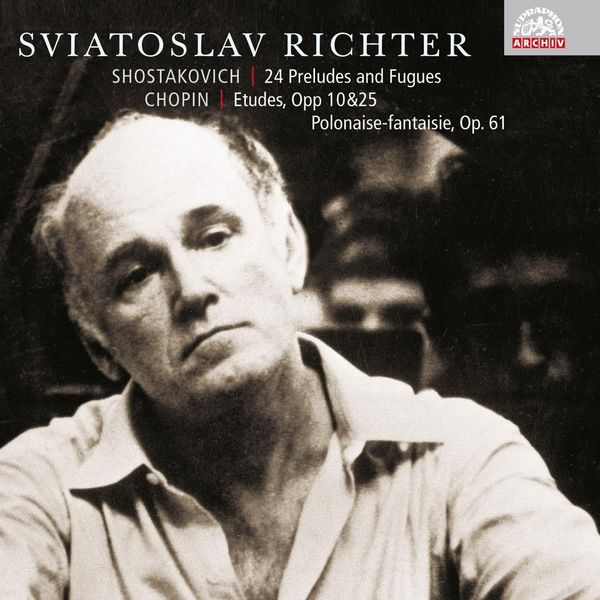 Sviatoslav Richter - Shostakovich: 24 Preludes and Fugues, Op. 87 - Chopin: Etudes and Polonaise