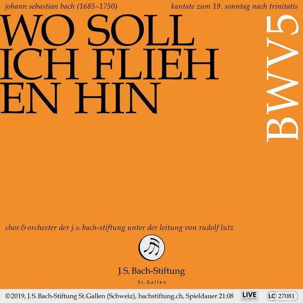 Chor der J.S. Bach-Stiftung - Bachkantate, BWV 5 - Wo soll ich fliehen hin (Live)