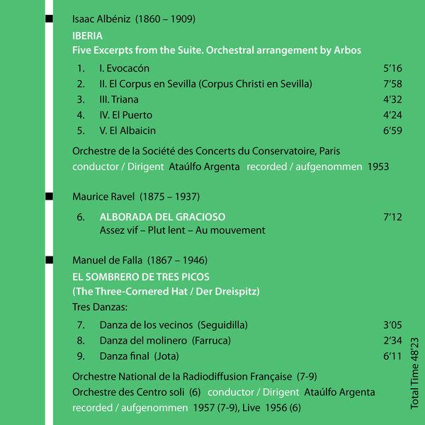 Orchestre de la Société des Concerts du Conservatoire - Milestones of a Conductor Legend: Ataúlfo Argenta, Vol. 5