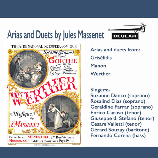 Various Artists - Arias and Duets by Jules Massenet