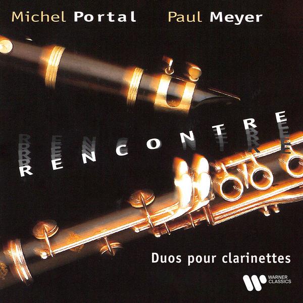 Michel Portal|Rencontre. Duos pour clarinettes de Mozart, Haydn, Yost, Rousseau & CPE Bach