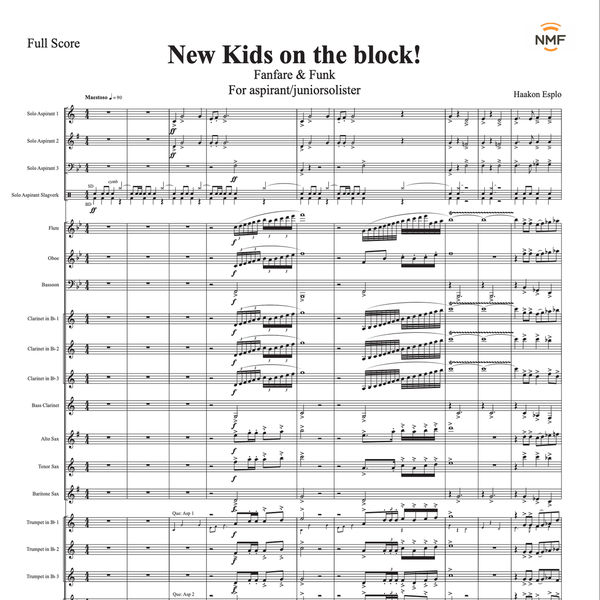 Norges Musikkorps Forbund - New kids on the block