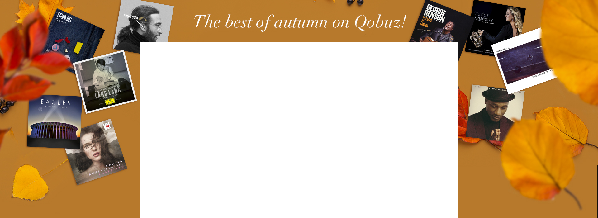 Qobuz Store wallpaper