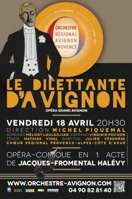 Recréation à Avignon du Dilettante d'Avignon de Jacques