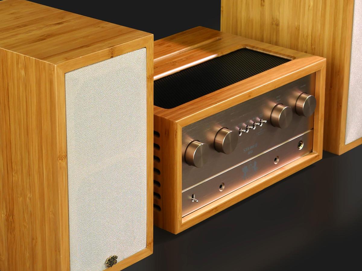 ifi audio retro 50 pas de querelle des anciens et des modernes pour cette mini cha ne. Black Bedroom Furniture Sets. Home Design Ideas