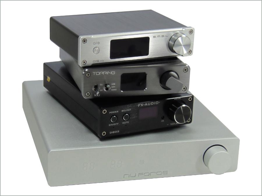 Comparison: Four digital amplifiers, Four audio benchmarks!