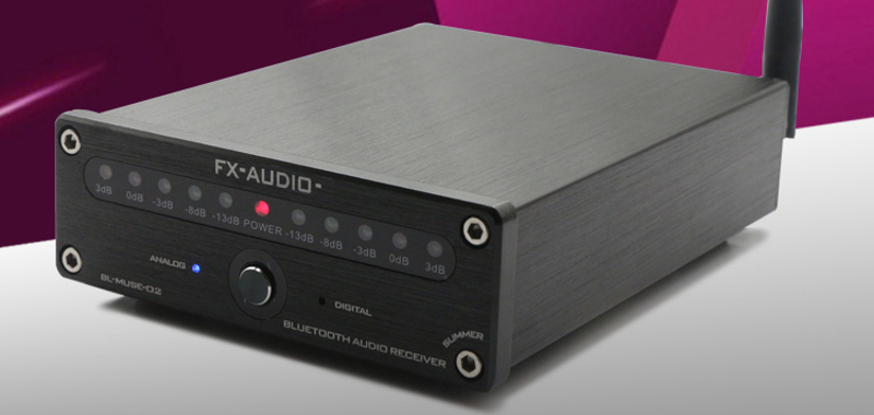 FX-Audio BL-Muse-02: a DAC with an aptX Bluetooth connection