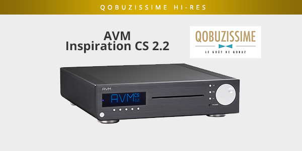 AVM Inspiration CS 2 2: A Qobuzism for this all-in-one