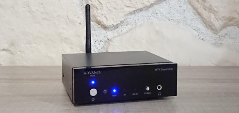 Advance Paris WTX-StreamPro : Qobuzisimme et Qobuz en Hi-Res pour ce lecteur réseau !