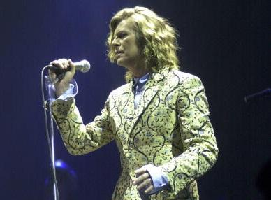 Bowie à Glastonbury
