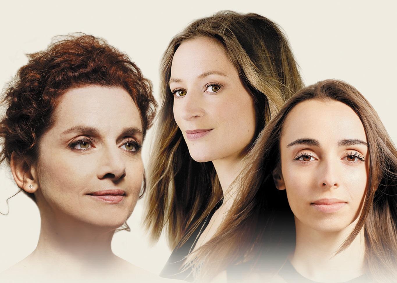 Sabine Devieilhe, Léa Desandre et Emmanuelle Haïm en Italie