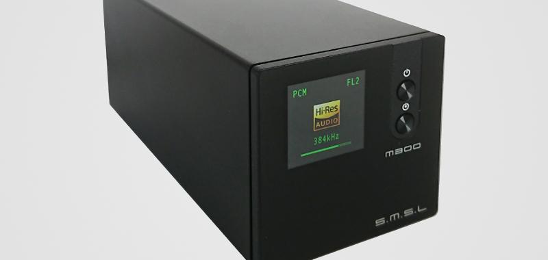 S.M.S.L M300 : très belle restitution sonore pour ce DAC intégrant six filtres numériques !