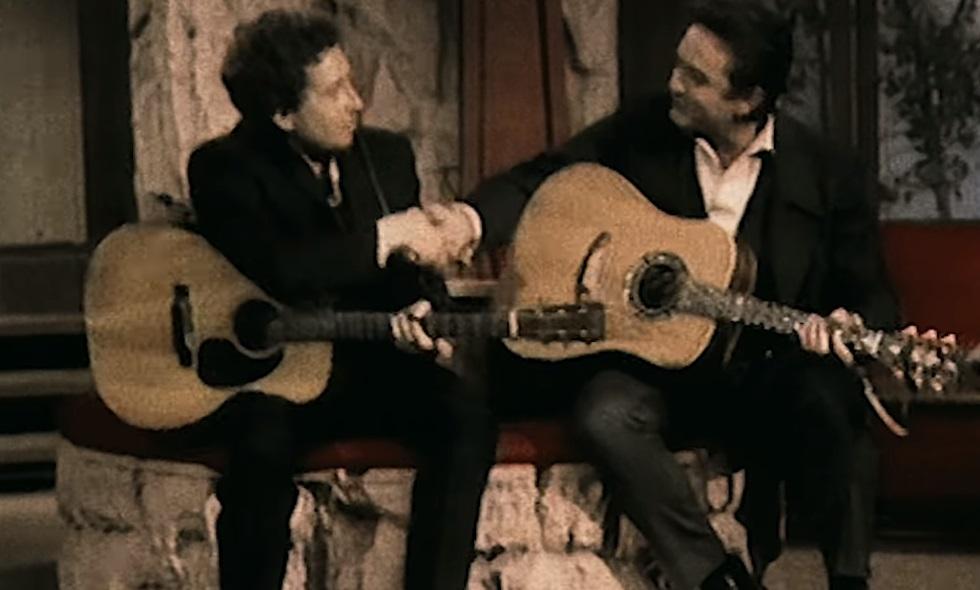 Et Bob Dylan rencontra Johnny Cash...