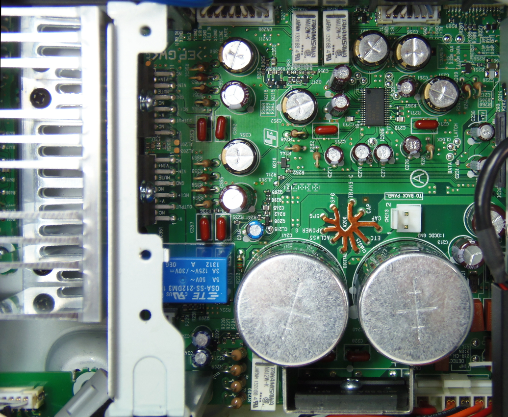 Qobuz Choice For The Sony Hap S1 Stereo Amplifier With Hdd And Audio Power Circuit Lm3876 Schematic Filtering Is Provided By Two Nippon Chemicon 6800 F 50v Capacitors Which Matches Up To Delivered Amplifiers
