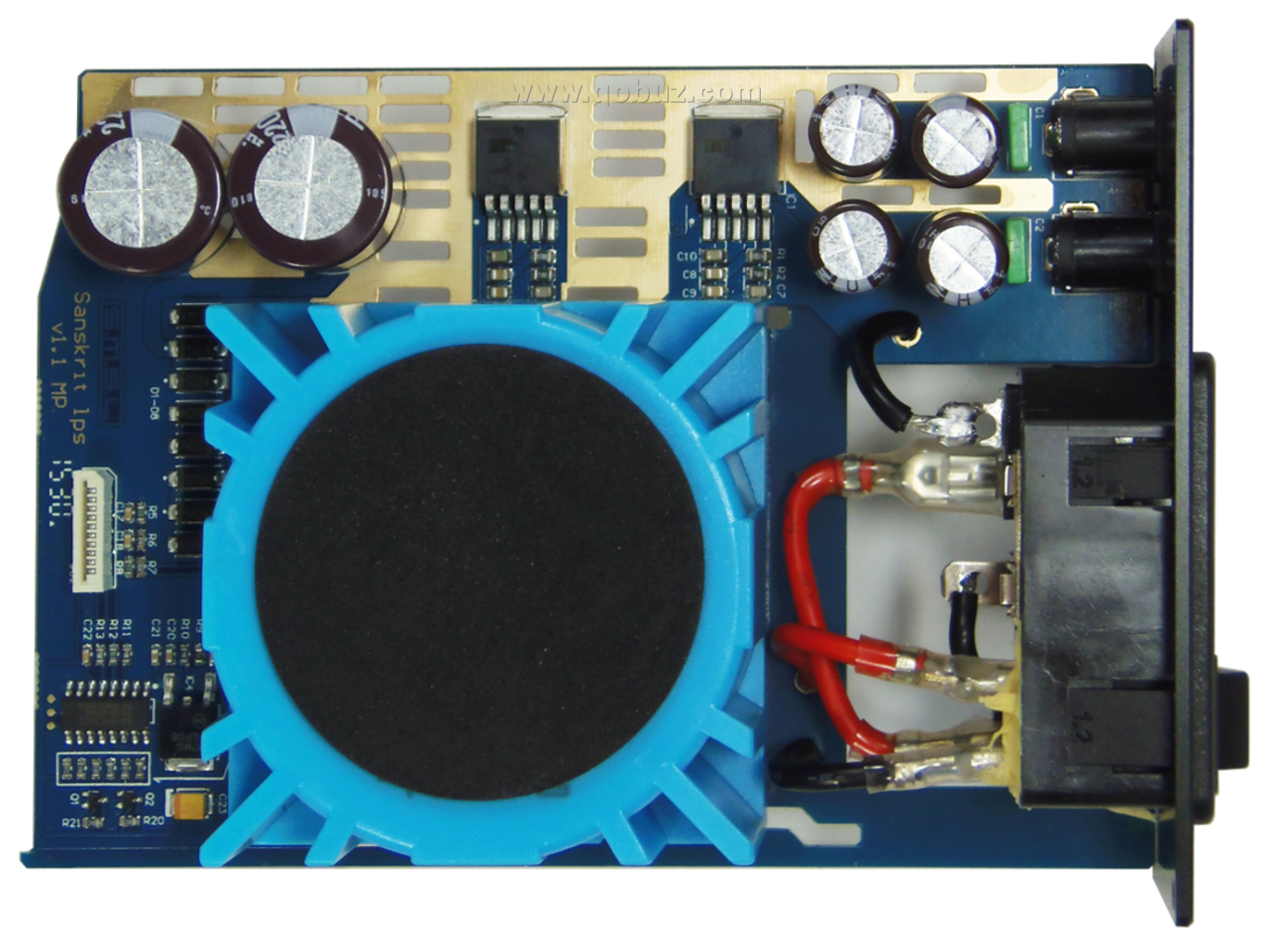 Smsl Panda System The Power Of Separation But Unity In Looking For A Red Laser Diode Circuit Controlablelm317components01 This Transformer Has Two Independent Secondary Windings Each Which Is Rectified By Four Schottky Ss24t3g Diodes Holds Current 2
